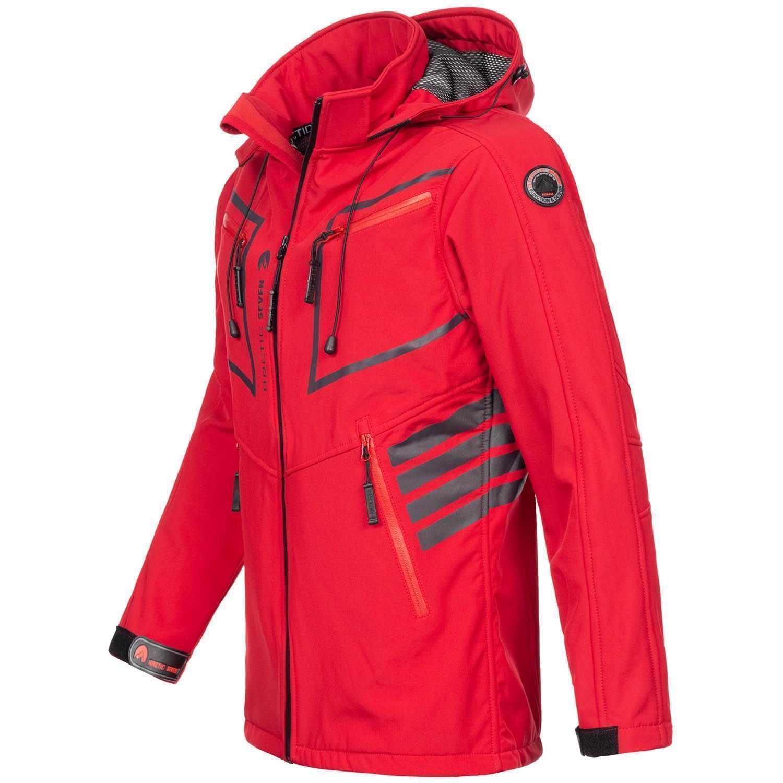 Arctic-Seven-Herren-Designer-Softshell-Funktions-Outdoor-Regen-Jacke-Sport-AS088 Indexbild 33