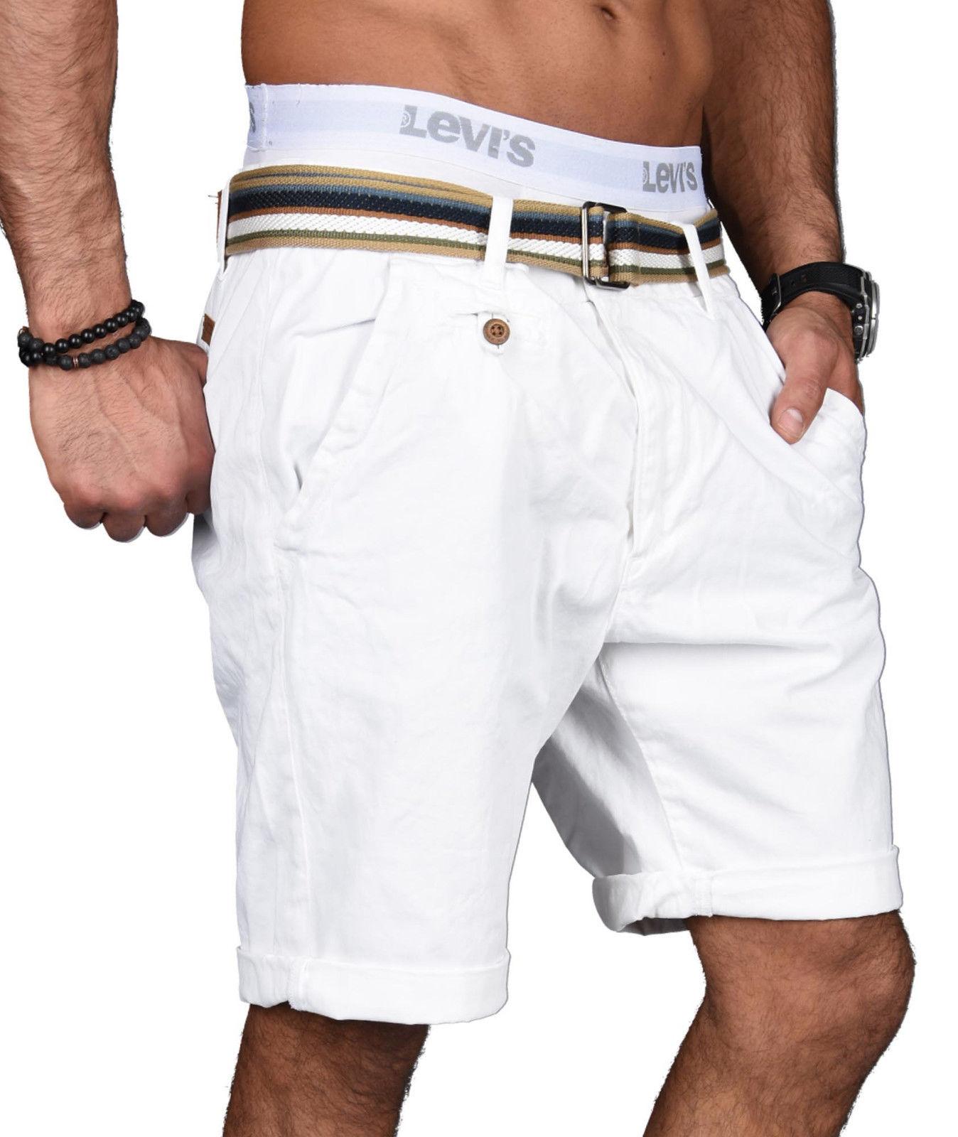 Indicode-Herren-Sommer-Bermuda-Chino-Shorts-kurze-Hose-Sommerhose-Short-NEU-B499 Indexbild 31