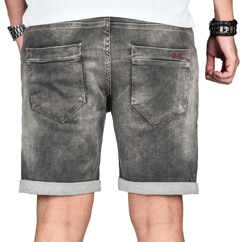 A-Salvarini-Herren-Jeans-Short-kurze-Hose-Sommer-Shorts-Bermuda-Comfort-fit-NEU Indexbild 40
