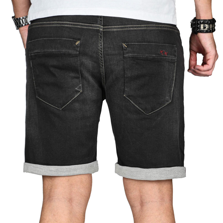 A-Salvarini-Herren-Jeans-Short-kurze-Hose-Sommer-Shorts-Bermuda-Comfort-fit-NEU Indexbild 5
