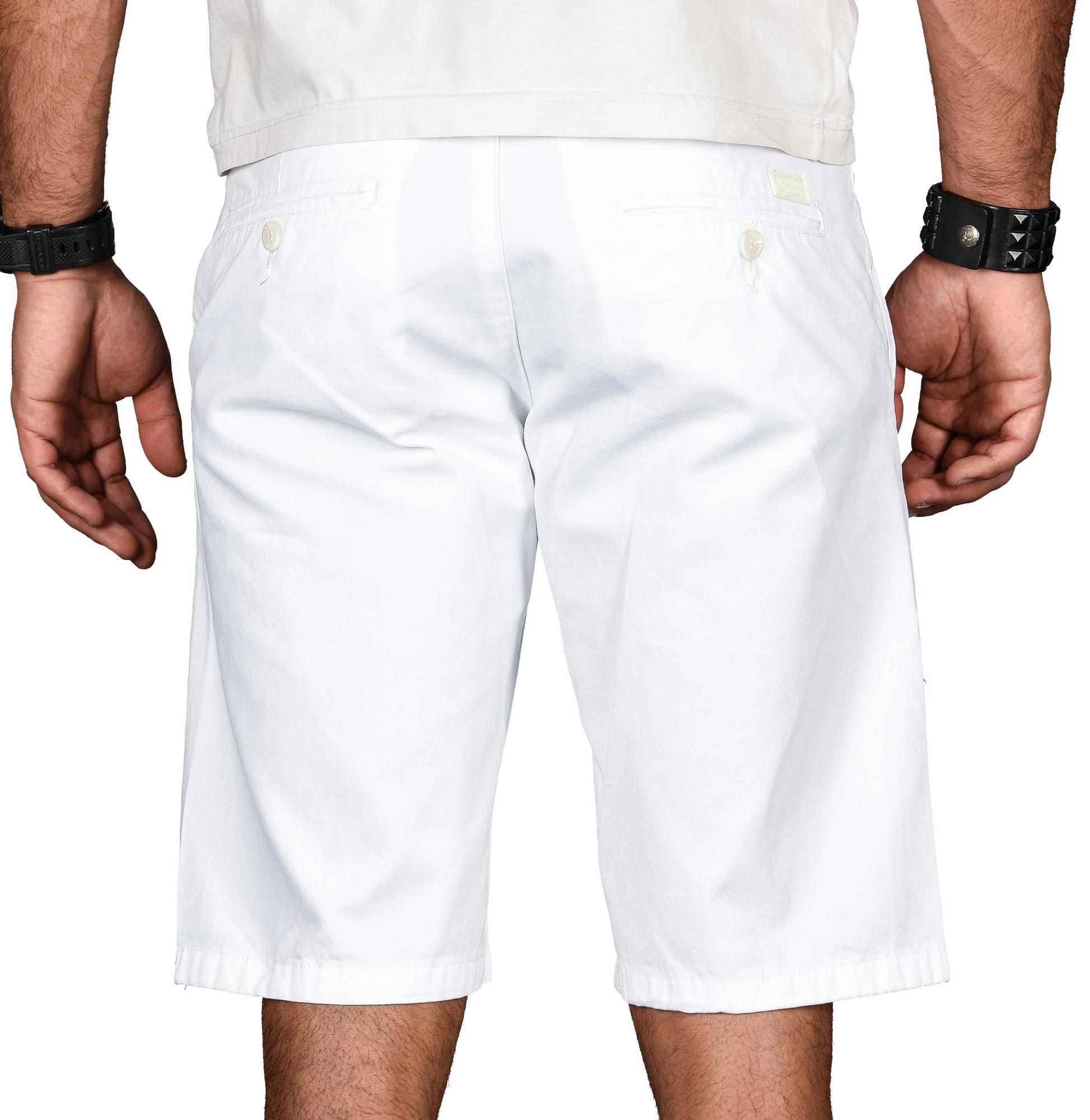 A-Salvarini-Herren-Shorts-kurze-Sommer-Hose-mit-Guertel-Short-Bermuda-NEU-AS096 Indexbild 24