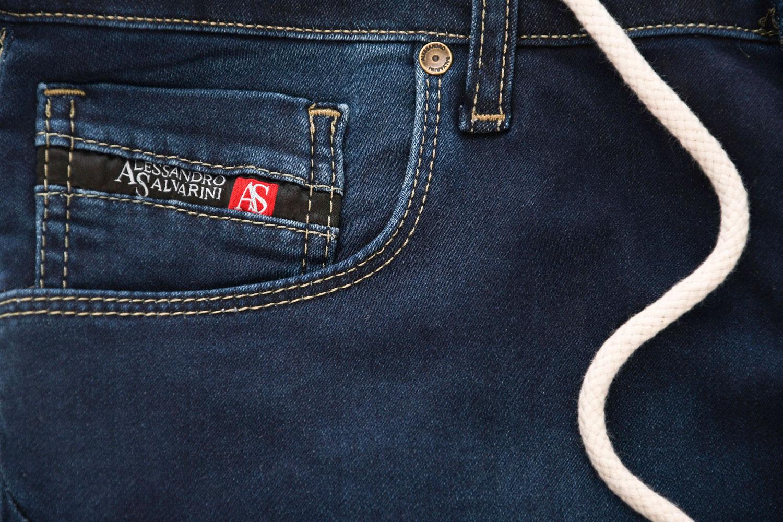 A-Salvarini-Herren-Jeans-Short-kurze-Hose-Sommer-Shorts-Bermuda-Comfort-fit-NEU Indexbild 20