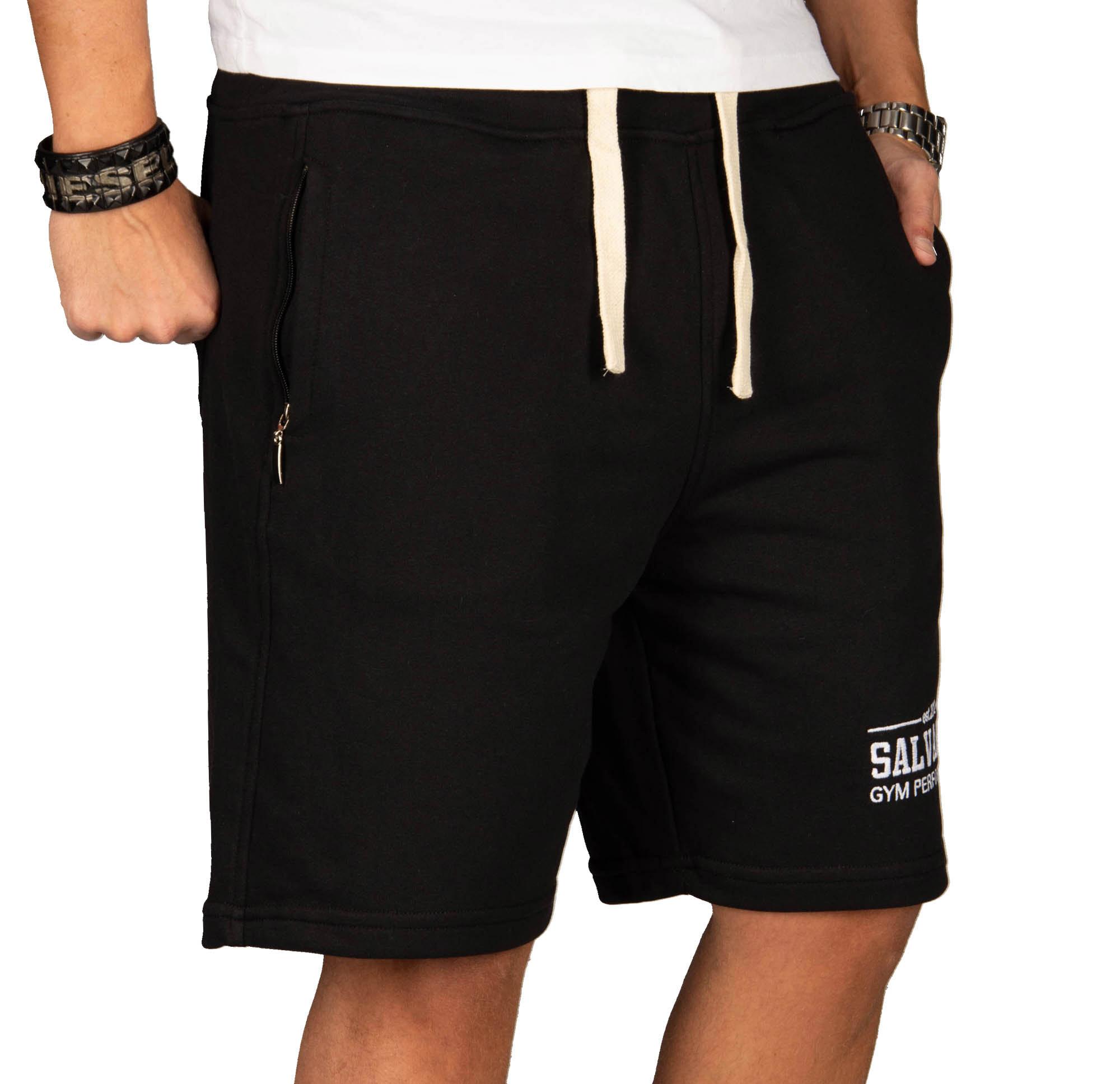 A-Salvarini-Herren-Sport-Jogging-Short-Fitness-Kurze-Hose-Trainingshose-AS130 Indexbild 3