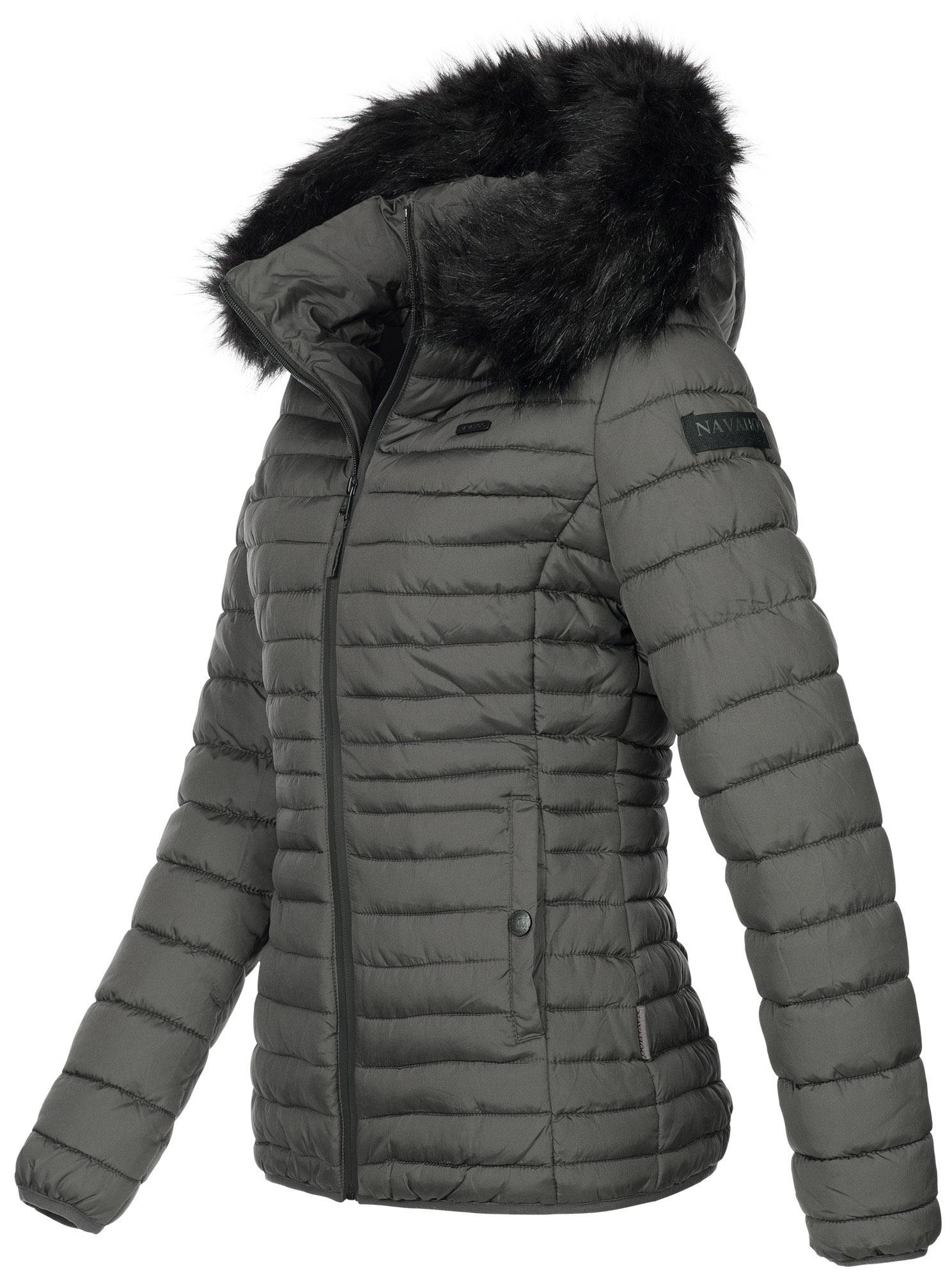 afb41087d8be9c Navahoo Designer Damen Winter Jacke Steppjacke Stepp Winterjacke NEU ...
