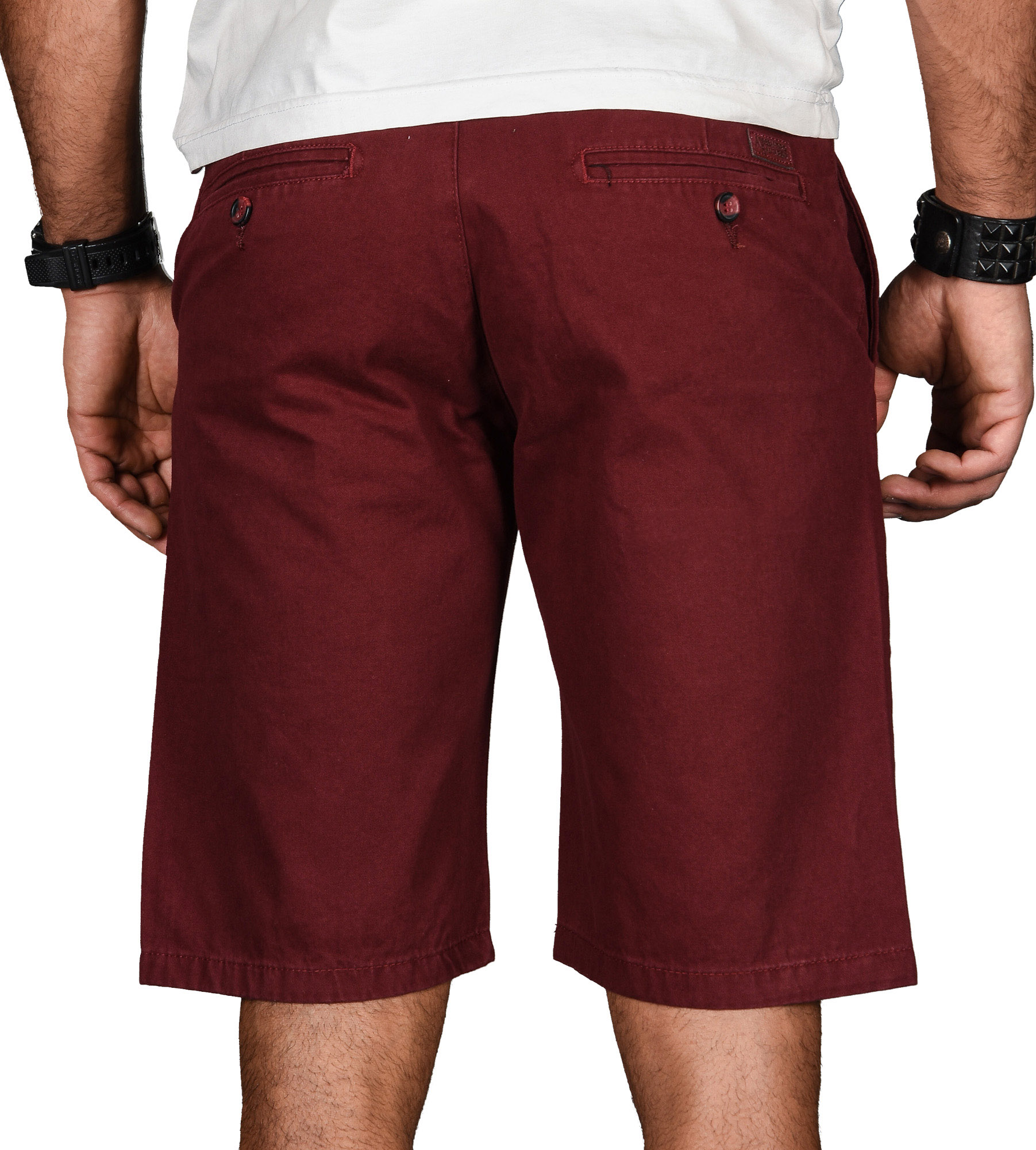 A-Salvarini-Herren-Shorts-kurze-Sommer-Hose-mit-Guertel-Short-Bermuda-NEU-AS096 Indexbild 35