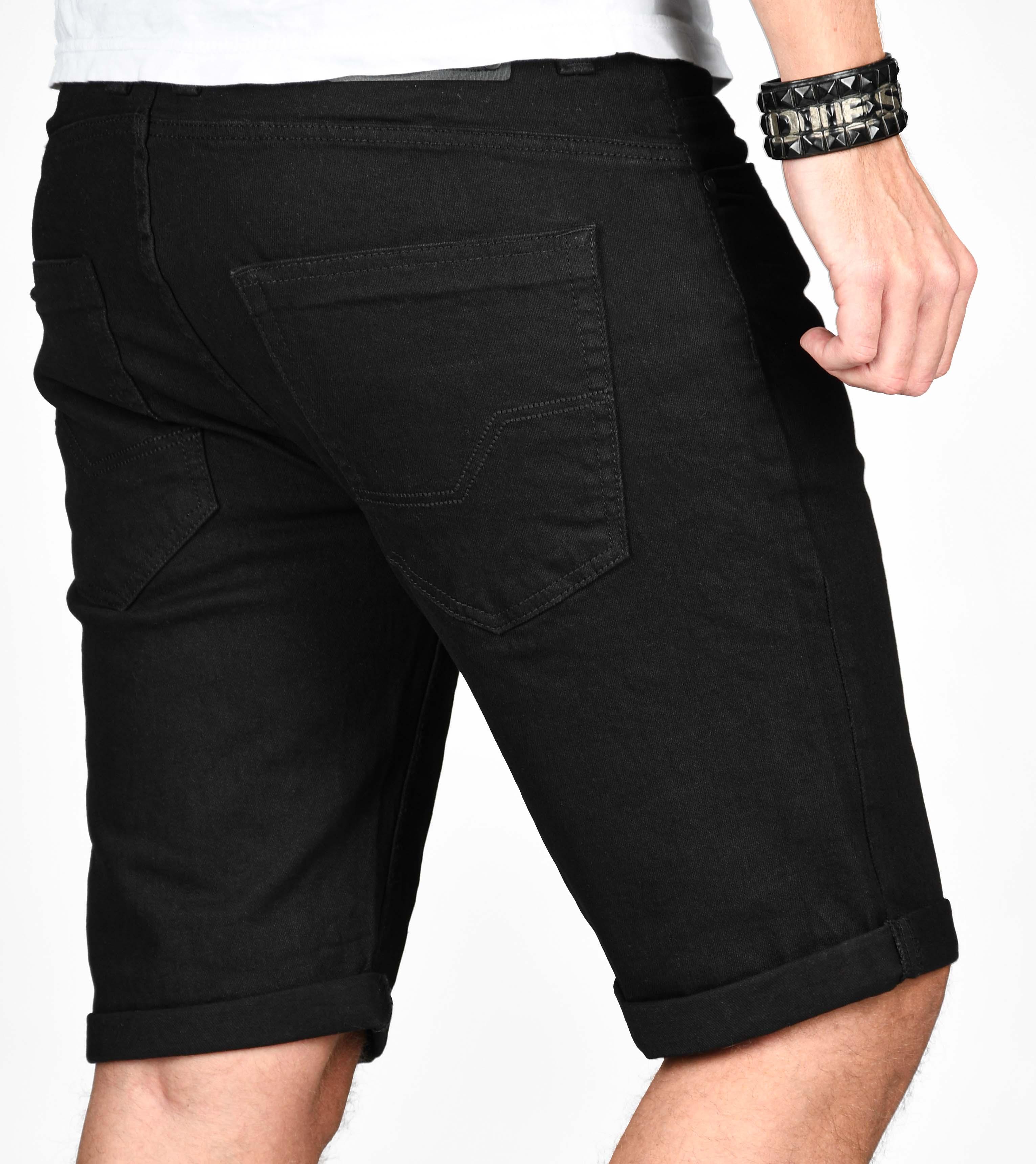 Indicode-Herren-Sommer-Bermuda-Jeans-Shorts-kurze-Hose-Sommerhose-Short-Neu-B556 Indexbild 8
