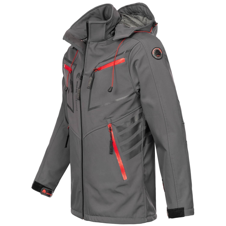 Arctic-Seven-Herren-Designer-Softshell-Funktions-Outdoor-Regen-Jacke-Sport-AS088 Indexbild 15