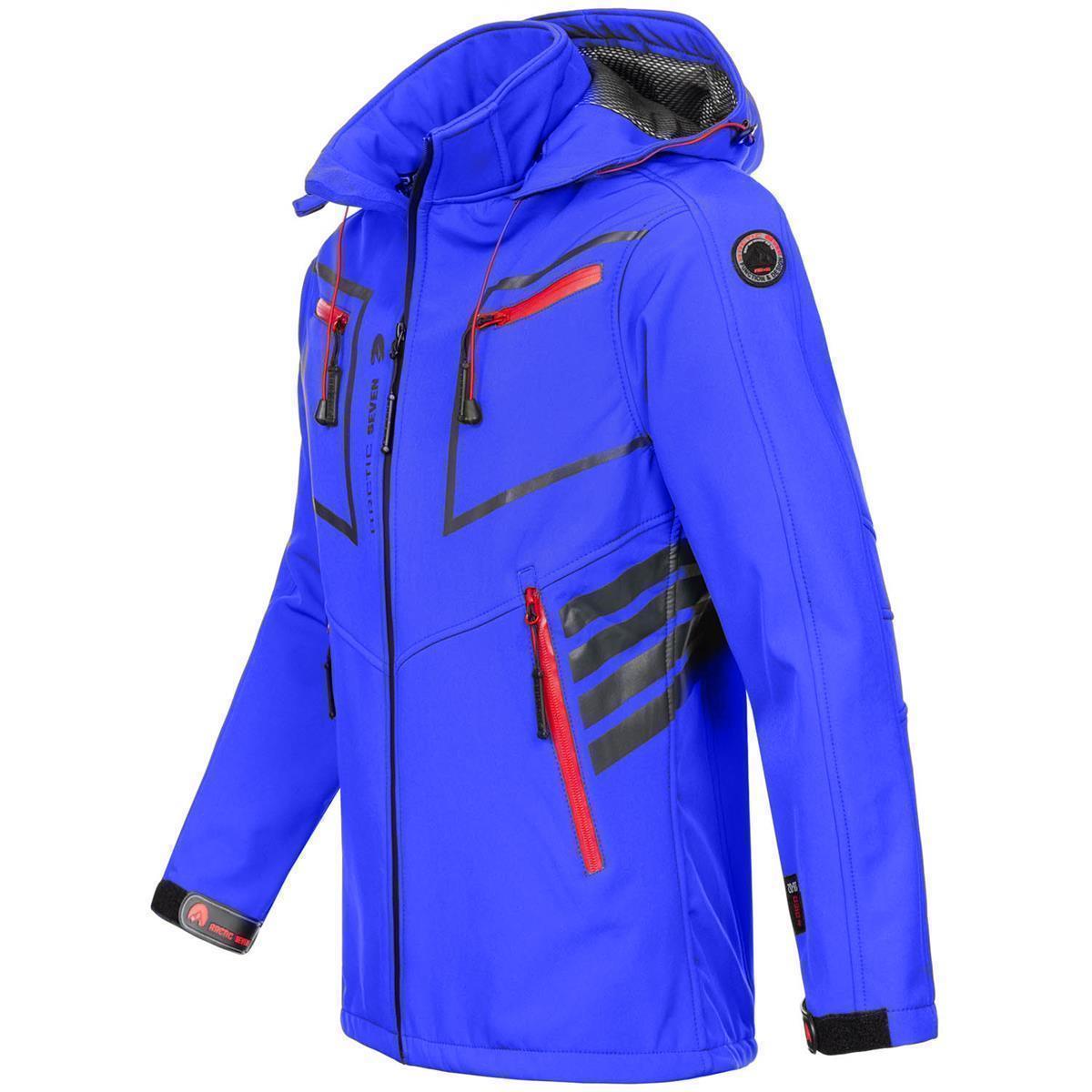 Arctic-Seven-Herren-Designer-Softshell-Funktions-Outdoor-Regen-Jacke-Sport-AS088 Indexbild 39