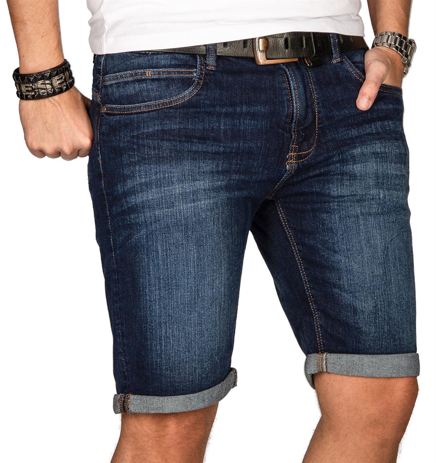 Indicode-Herren-Sommer-Bermuda-Jeans-Shorts-kurze-Hose-Sommerhose-Short-Neu-B556 Indexbild 33
