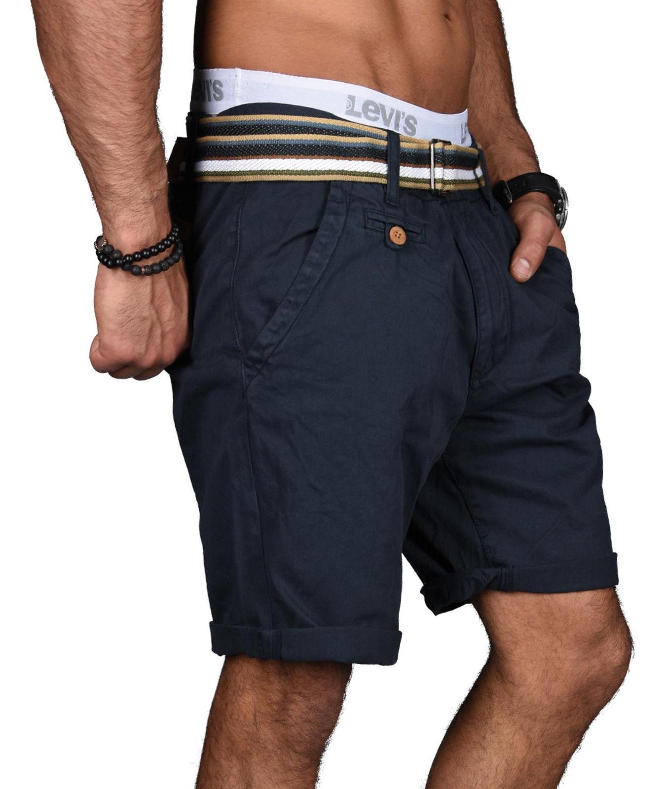 Indicode-Herren-Sommer-Bermuda-Chino-Shorts-kurze-Hose-Sommerhose-Short-NEU-B499 Indexbild 15