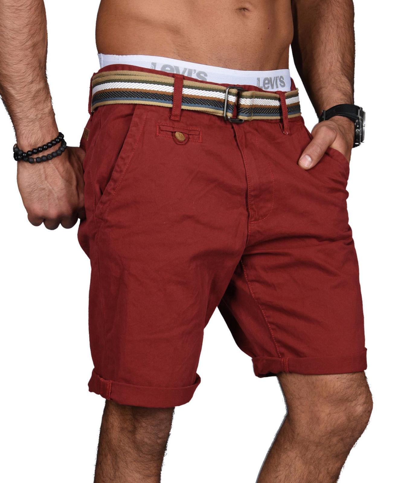 Indicode-Herren-Sommer-Bermuda-Chino-Shorts-kurze-Hose-Sommerhose-Short-NEU-B499 Indexbild 23