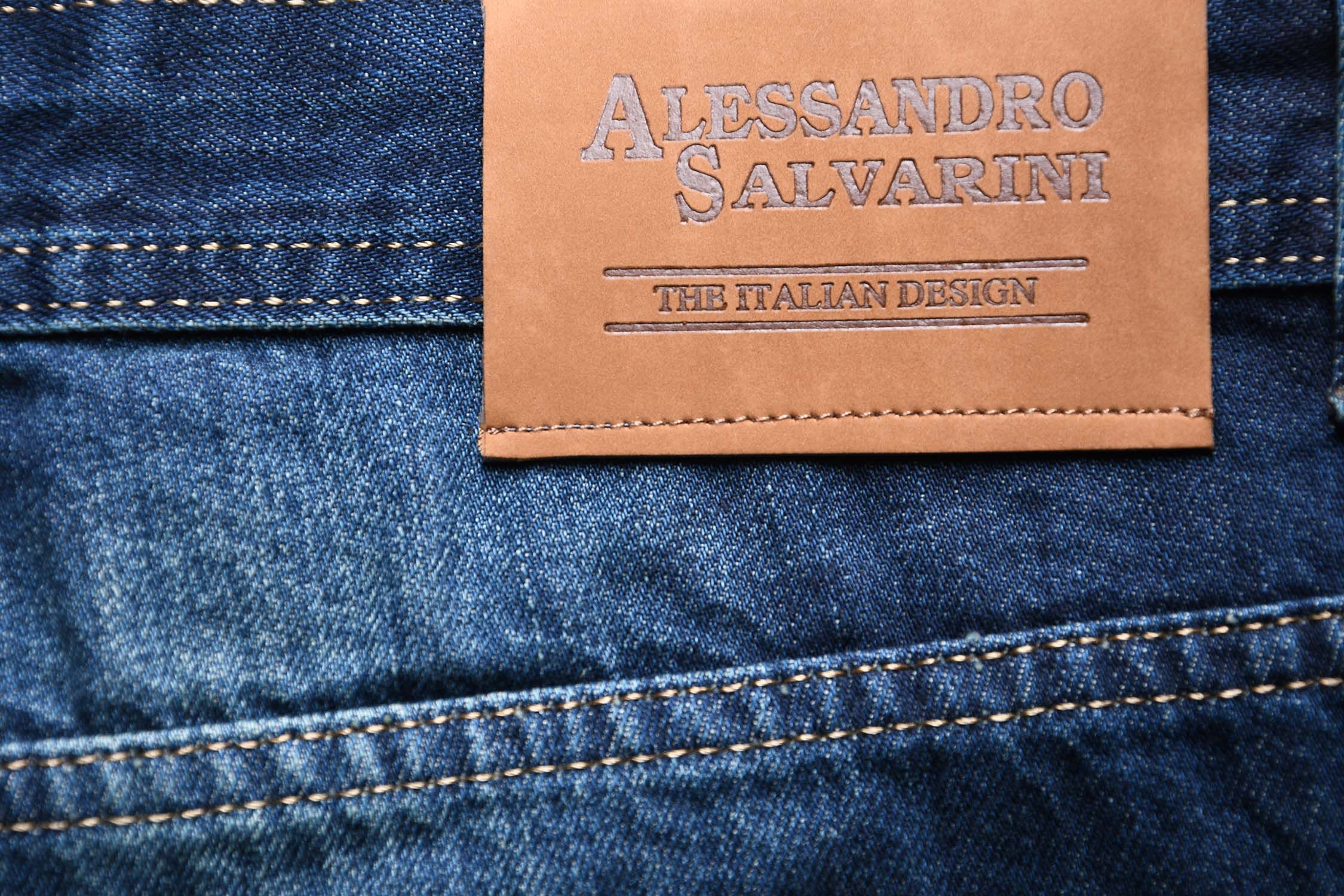 A-Salvarini-Beppo-Designer-Herren-Jeans-Hose-Basic-Jeanshose-Comfort-Fit Indexbild 17