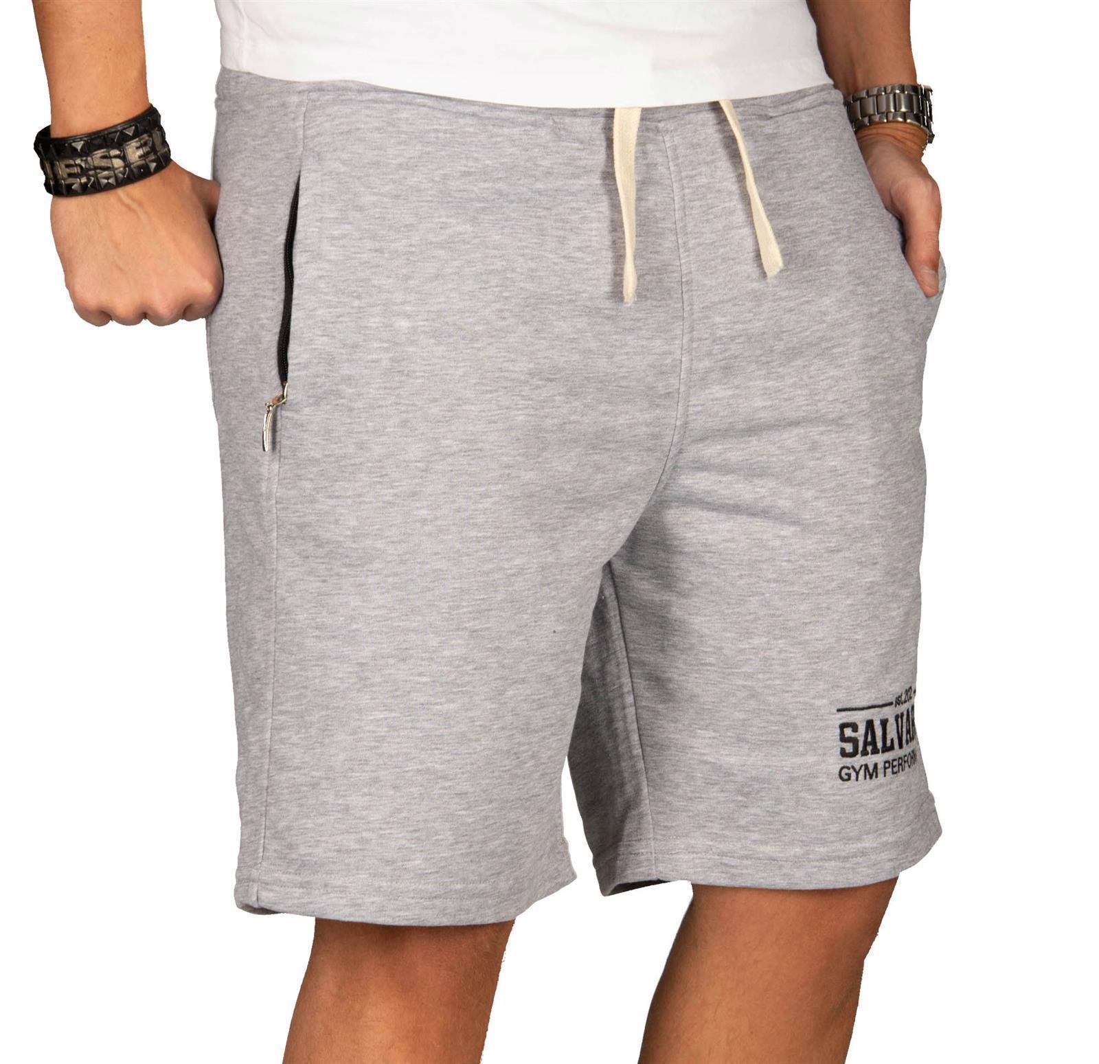 A-Salvarini-Herren-Sport-Jogging-Short-Fitness-Kurze-Hose-Trainingshose-AS130 Indexbild 18