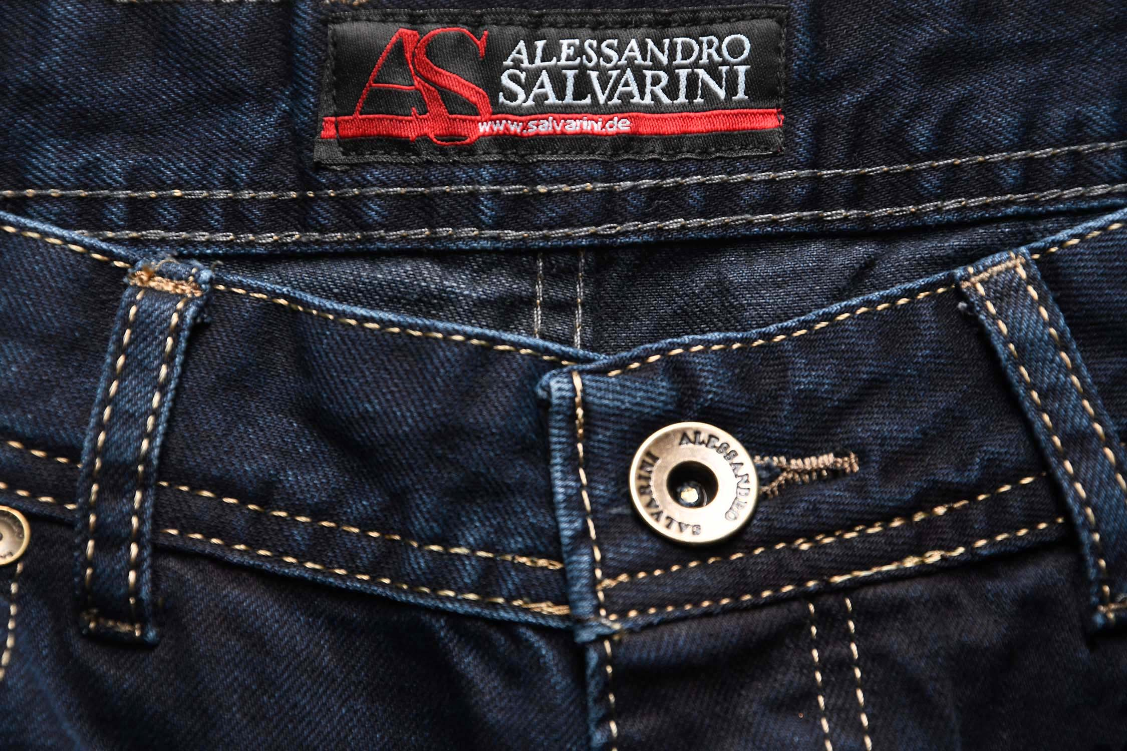 A-Salvarini-Beppo-Designer-Herren-Jeans-Hose-Basic-Jeanshose-Comfort-Fit Indexbild 24