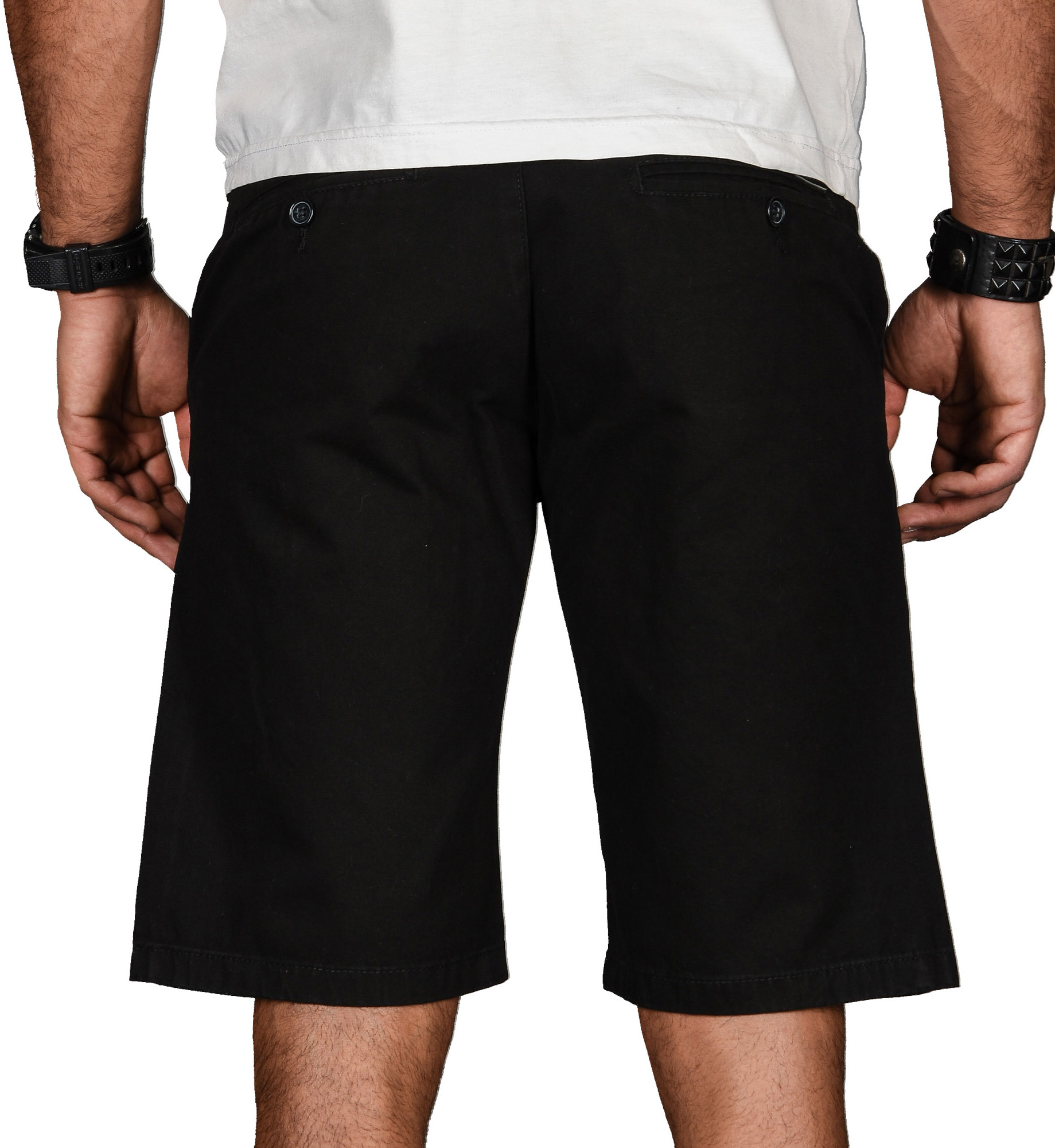 A-Salvarini-Herren-Shorts-kurze-Sommer-Hose-mit-Guertel-Short-Bermuda-NEU-AS096 Indexbild 5