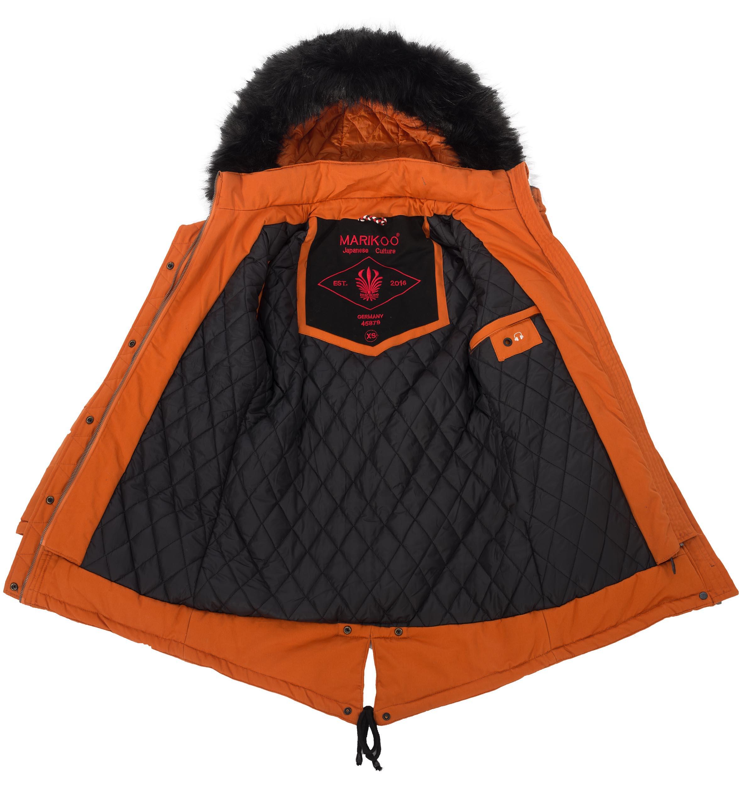 Marikoo-Rose-Damen-Designer-Winter-Jacke-warme-Winterjacke-Parka-Mantel-B390
