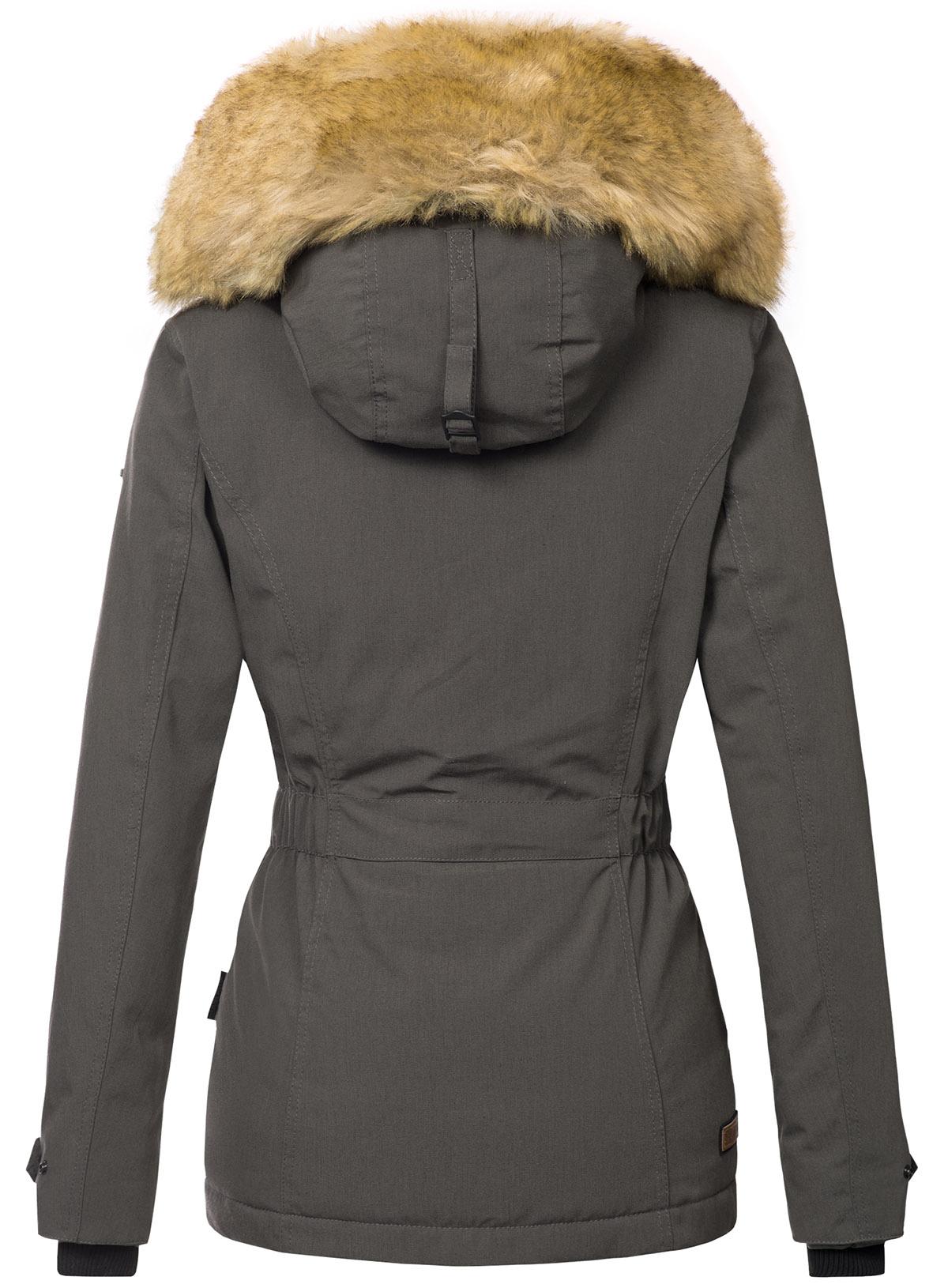 Dettagli su Navahoo Calde Donna Invernale Giacca Giacca Invernale Parka Cappotto Laura 2 PELO SINTETICO b392 mostra il titolo originale