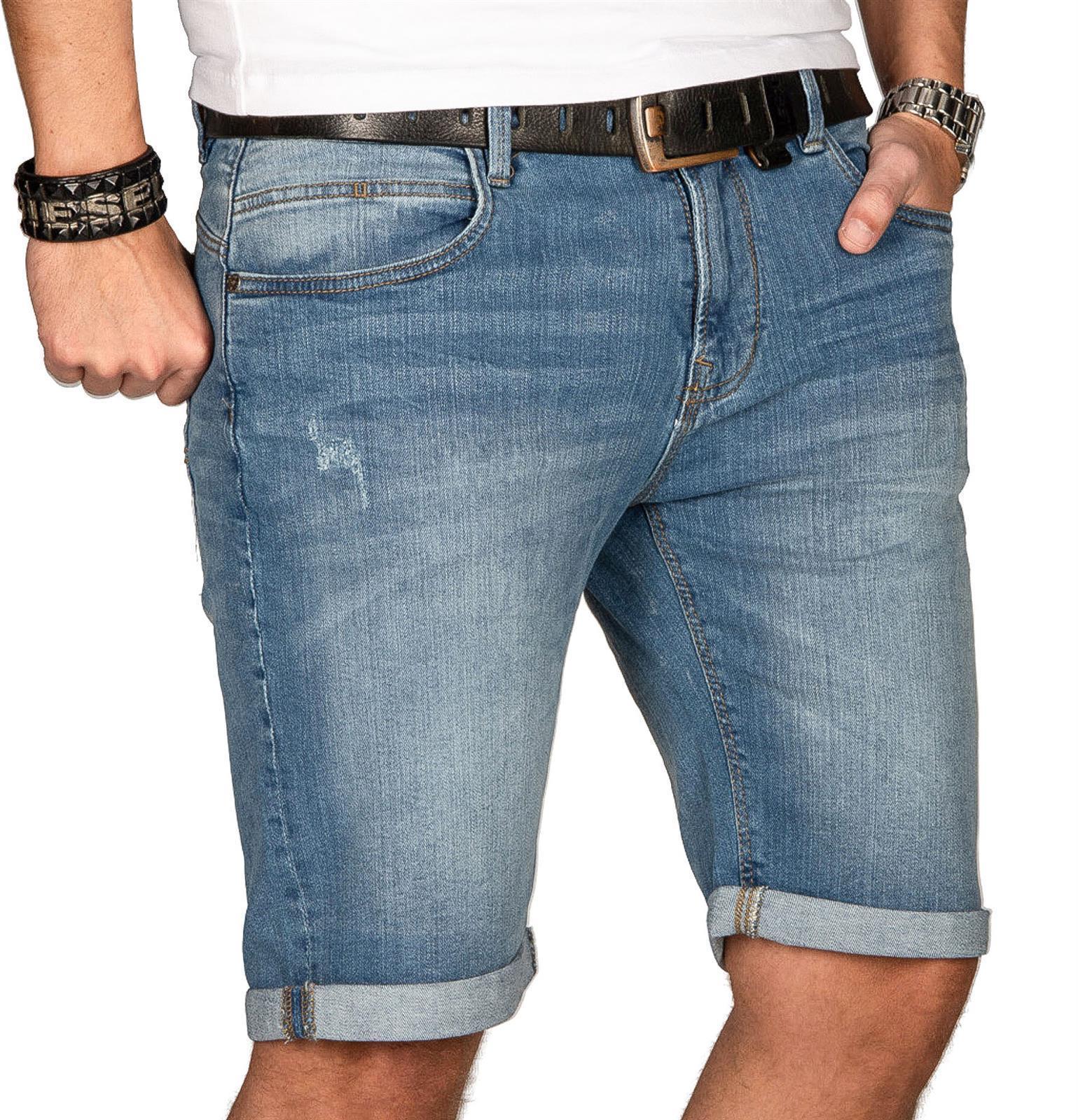 Indicode-Herren-Sommer-Bermuda-Jeans-Shorts-kurze-Hose-Sommerhose-Short-Neu-B556 Indexbild 11