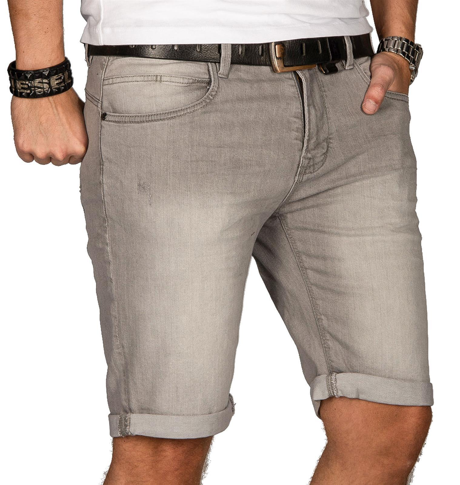 Indicode-Herren-Sommer-Bermuda-Jeans-Shorts-kurze-Hose-Sommerhose-Short-Neu-B556 Indexbild 19