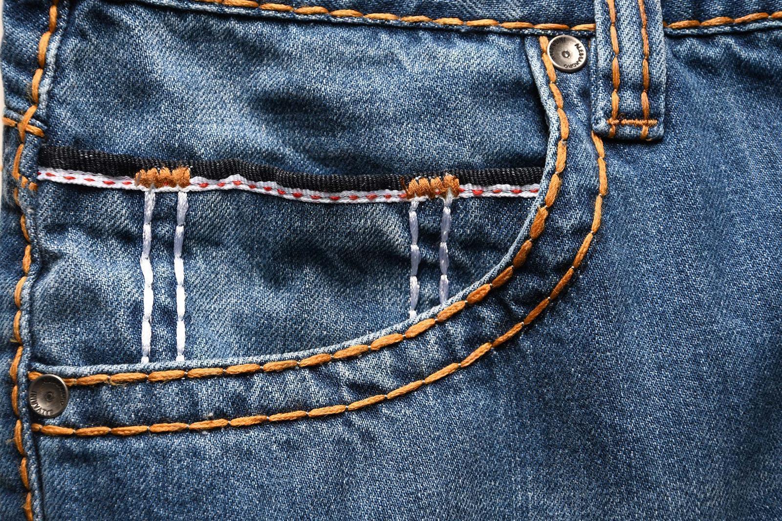 A-Salvarini-Herren-Jeans-Hose-dicke-Naehte-Jeanshose-Comfort-Fit-gerades-Bein Indexbild 16