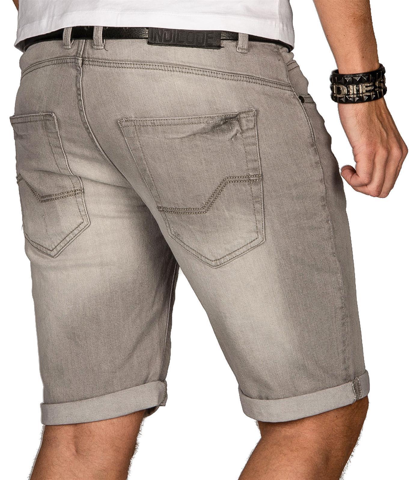 Indicode-Herren-Sommer-Bermuda-Jeans-Shorts-kurze-Hose-Sommerhose-Short-Neu-B556 Indexbild 20