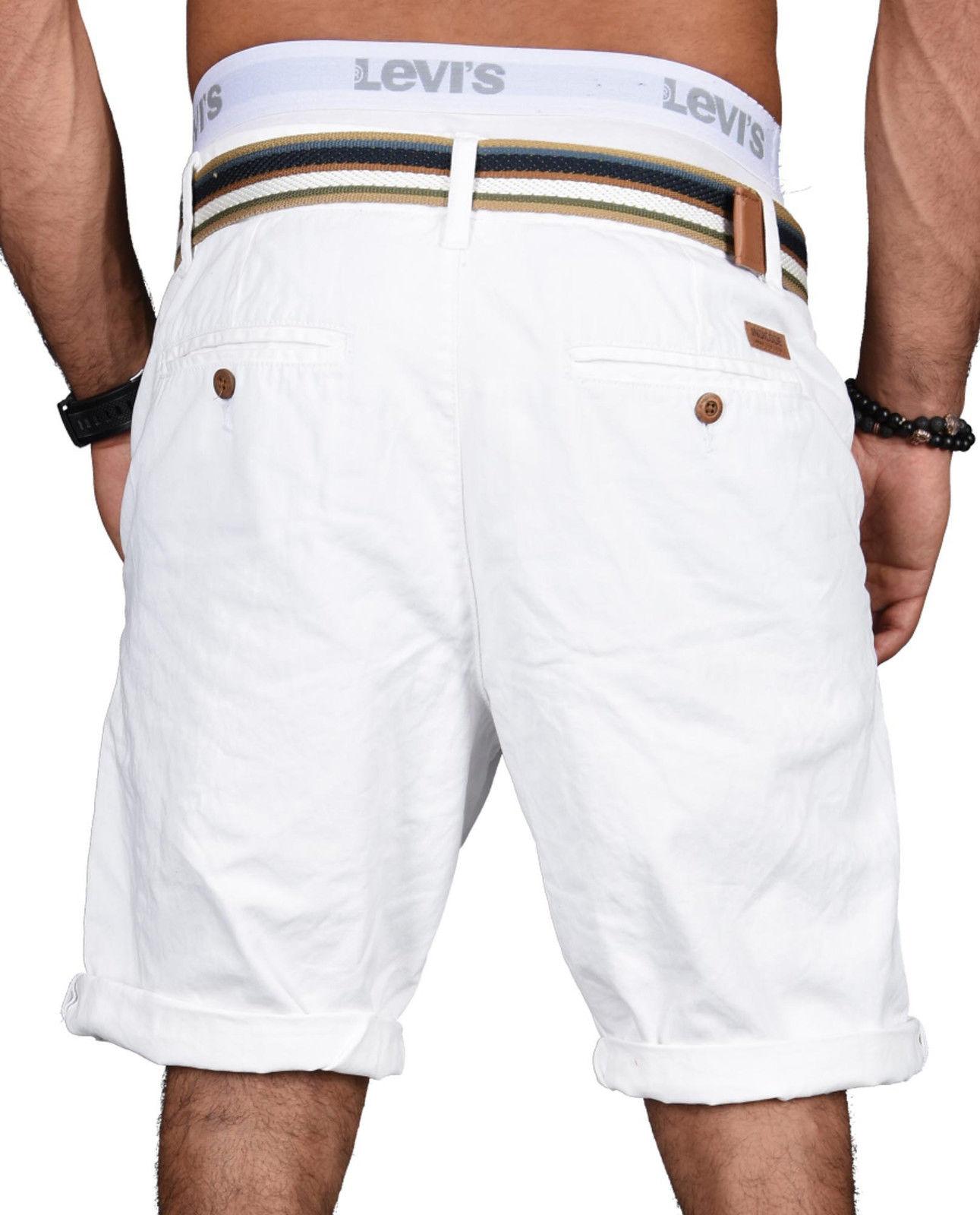Indicode-Herren-Sommer-Bermuda-Chino-Shorts-kurze-Hose-Sommerhose-Short-NEU-B499 Indexbild 33