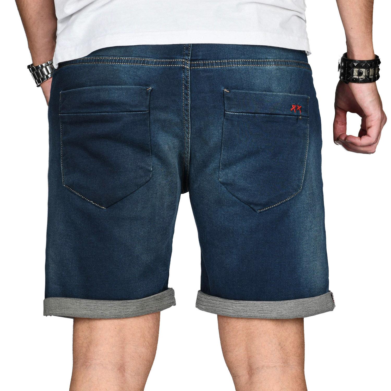 A-Salvarini-Herren-Jeans-Short-kurze-Hose-Sommer-Shorts-Bermuda-Comfort-fit-NEU Indexbild 26