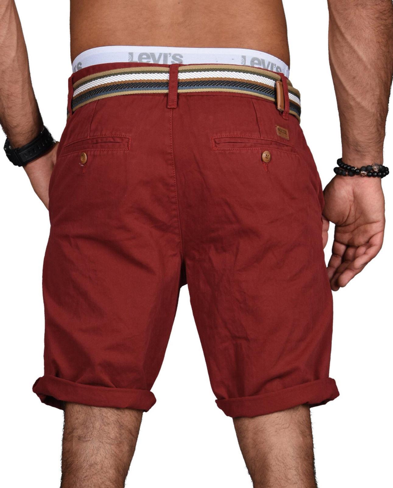 Indicode-Herren-Sommer-Bermuda-Chino-Shorts-kurze-Hose-Sommerhose-Short-NEU-B499 Indexbild 25