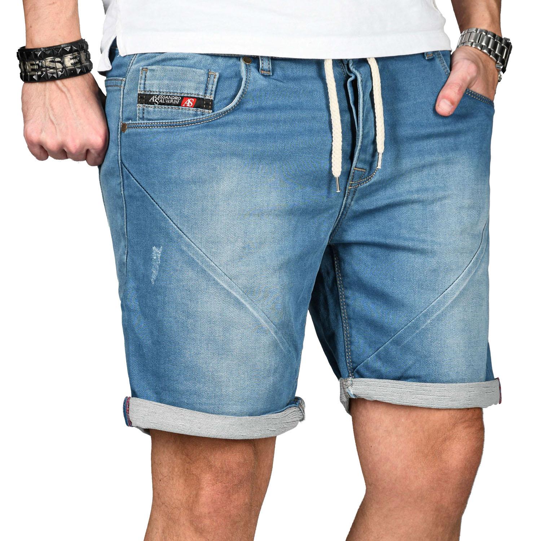 A-Salvarini-Herren-Jeans-Short-kurze-Hose-Sommer-Shorts-Bermuda-Comfort-fit-NEU Indexbild 10