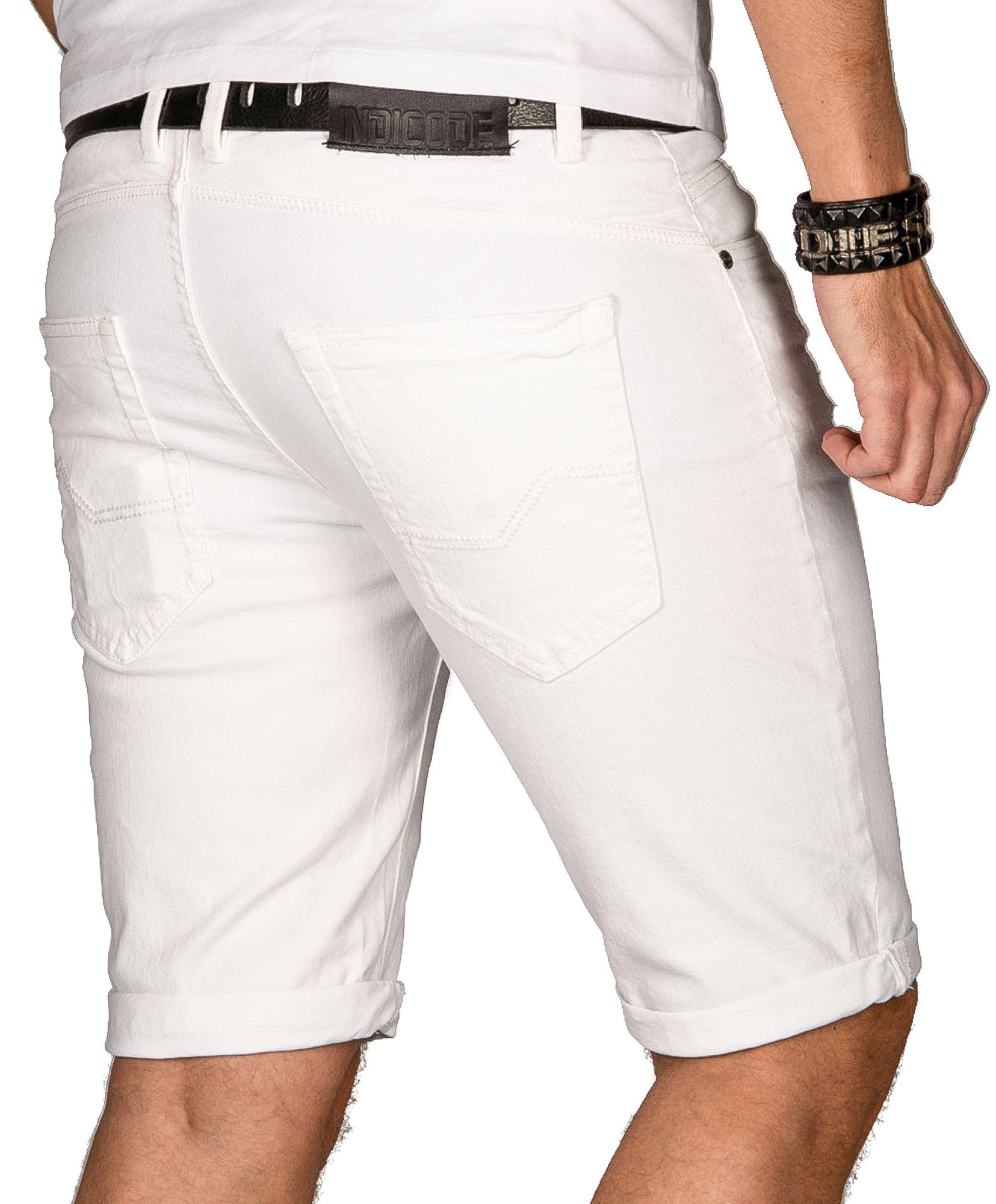 Indicode-Herren-Sommer-Bermuda-Jeans-Shorts-kurze-Hose-Sommerhose-Short-Neu-B556 Indexbild 16
