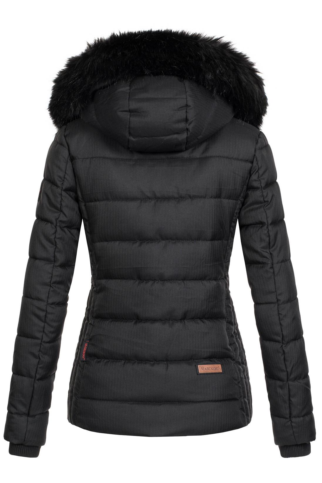 Marikoo-warme-Damen-Winter-Jacke-Steppjacke-Winterjacke-gesteppt-Parka-NEU-B391