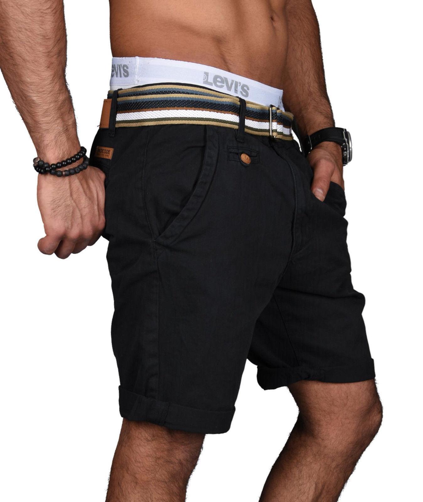 Indicode-Herren-Sommer-Bermuda-Chino-Shorts-kurze-Hose-Sommerhose-Short-NEU-B499 Indexbild 27