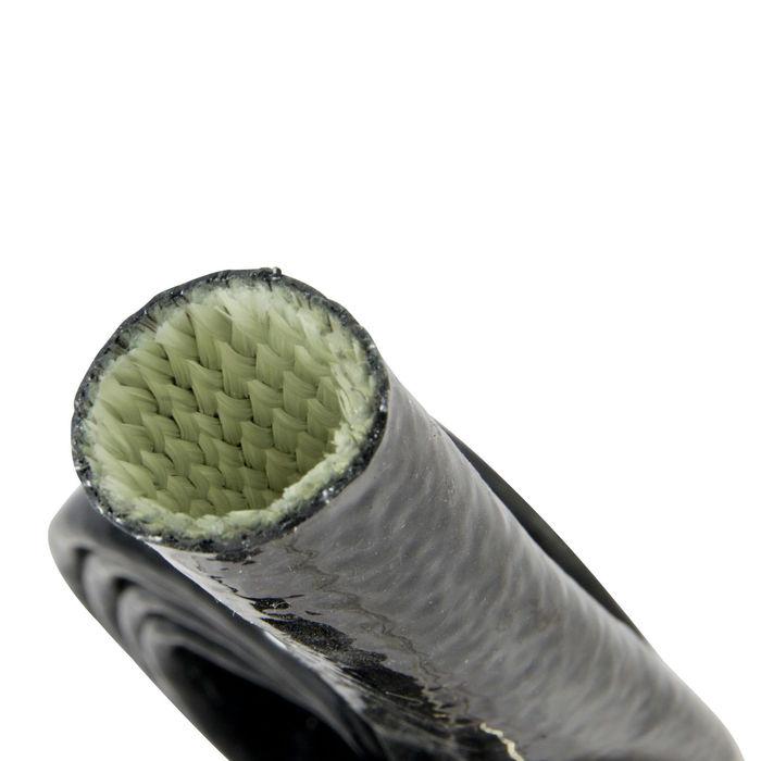 1m Hitzeschutz Schlauch 13mm ID AN8 Silikon Fiberglas Kabelschutz Scheuerschutz