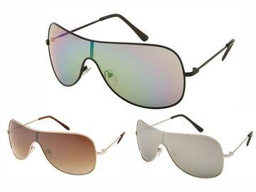 LOOX Sonnenbrille Pilotenbrille 400UV getönt breit Modell Casablanca