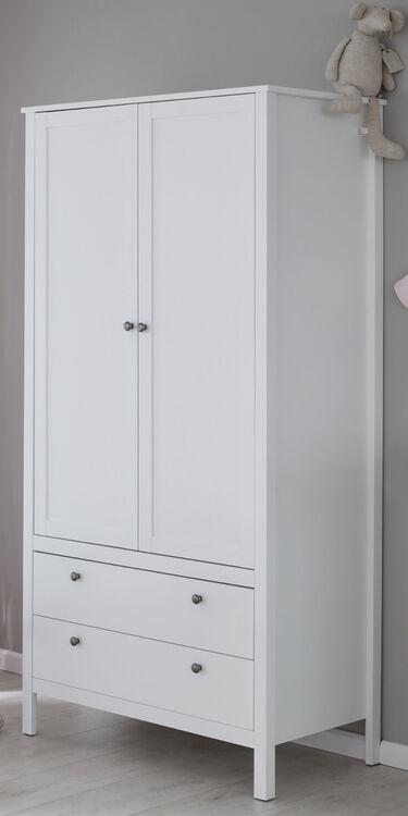 Baby Möbel komplett Set Babyzimmer Kinderzimmer in weiß 3 ...