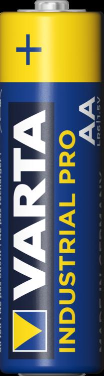100x Mignon AA / LR6 - Batterie Alkaline, VARTA Industrial 4006, 1,5V, 2950 mAh Batterien Made in Germany - Bild 3