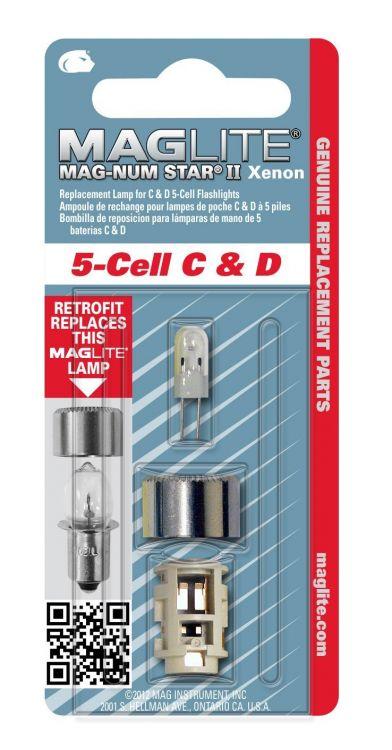 MagLite lmxa501 ampoules xénon pour 5c//5d Mag-Lite