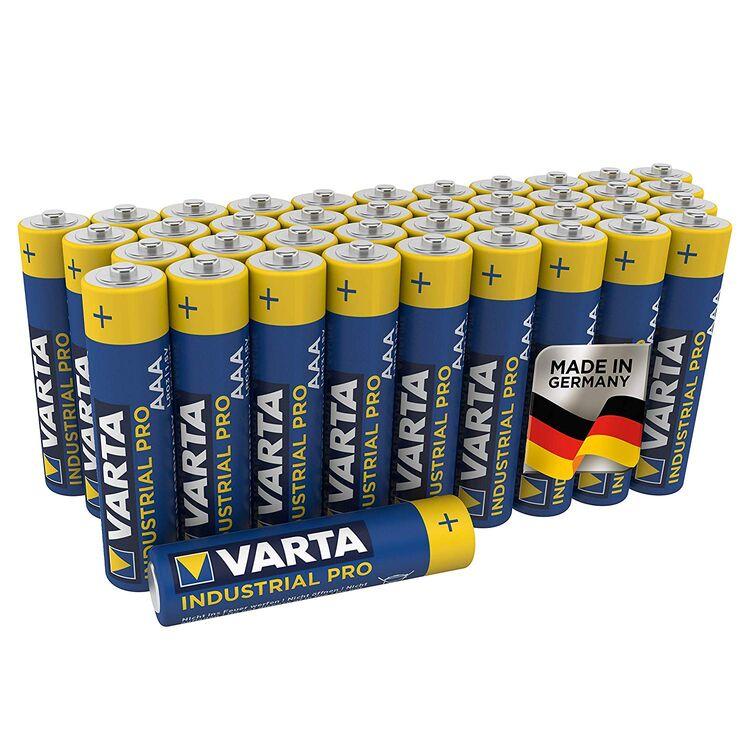 100x Mignon AA / LR6 - Batterie Alkaline, VARTA Industrial 4006, 1,5V, 2950 mAh Batterien Made in Germany - Bild 2
