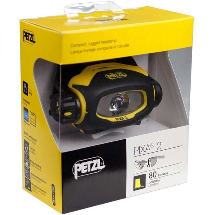 Petzl PIXA 2 robuste Stirnlampe IP67 Arbeitslampe Ex-Schutz Atex LED Stirnlampe