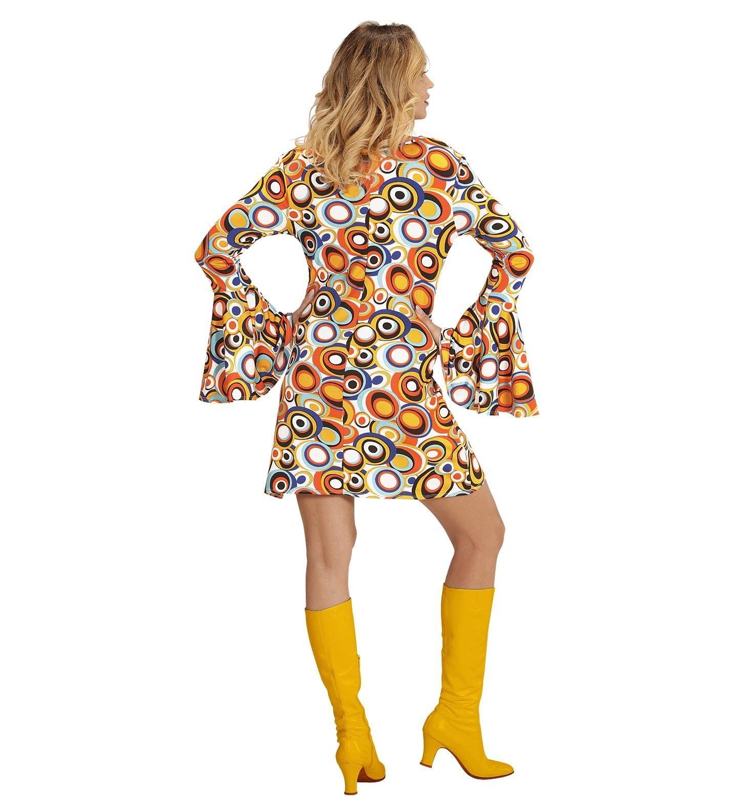 Minikleid Damen 60er 70er Jahre Hippie Schlager ...