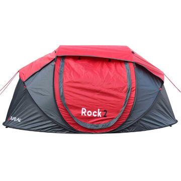 2 Personen Wurfzelt Tragbares Polyester-Tarnzelt Campingzelt Outdoor Wasserdicht