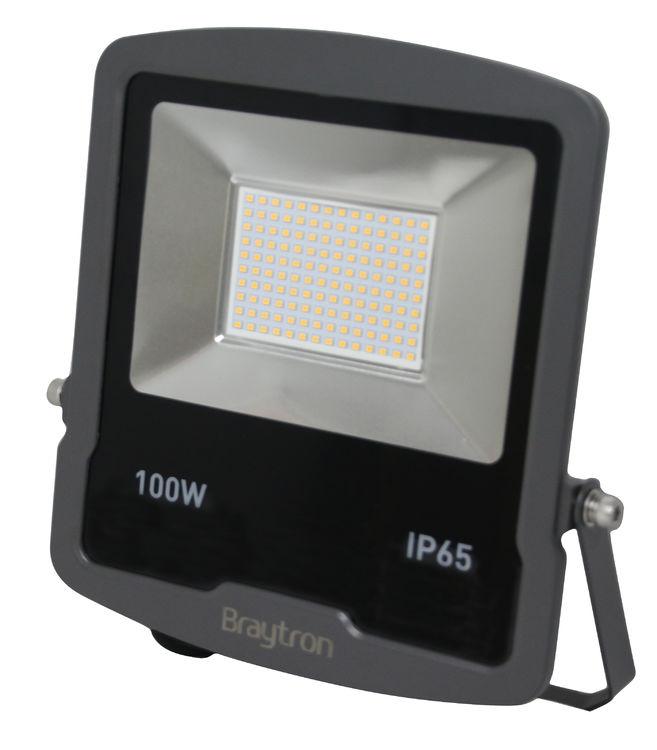 5X 100W LED Fluter Flutlicht Scheinwerfer Baustrahler AußenStrahler SMD Kaltweiβ