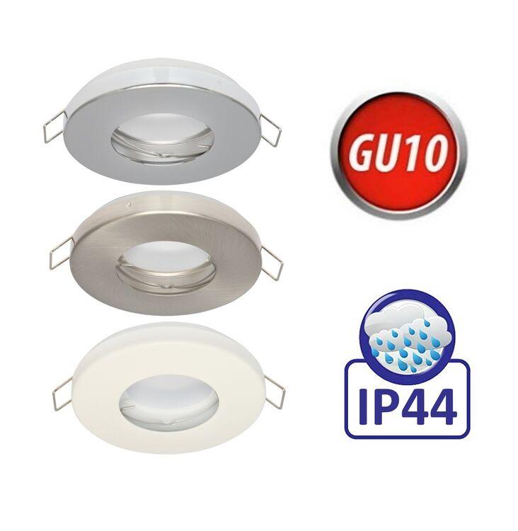 LED Einbauspot dimmbar Leuchte IP44 Bad Feuchtraum Außenlampe 7W weiß