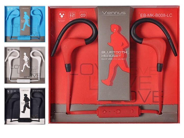In Ear Stereo Kopfhörer Sport Ohrhörer Sportkopfhörer blau für Blackberry