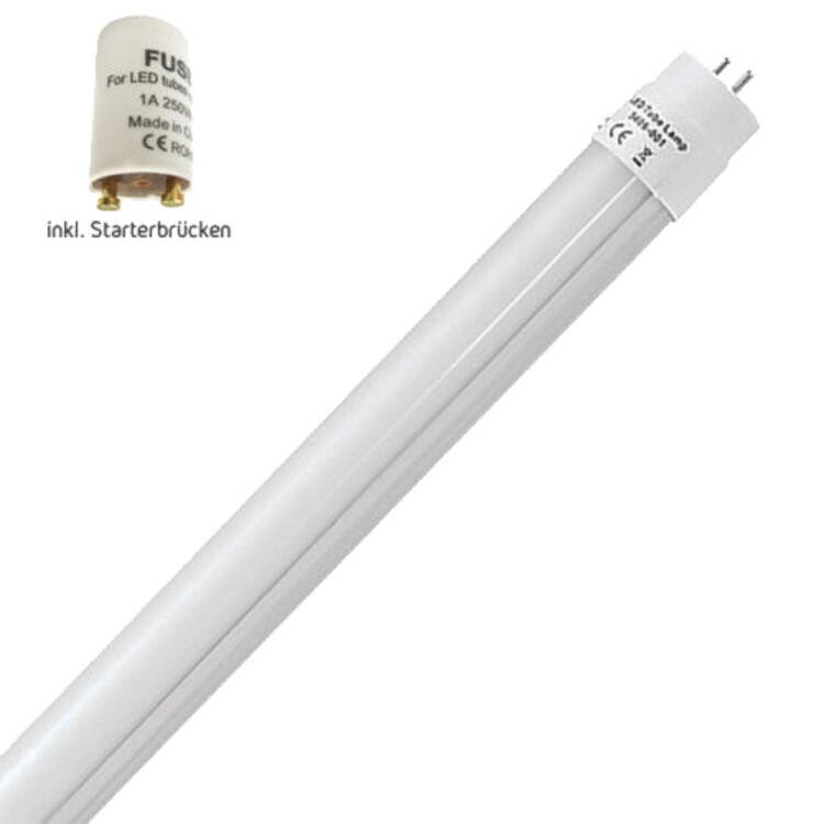 Dummy Starter 60cm 900Lm neutralweiß inkl LED Leuchtstoffröhre T8 G13 10W