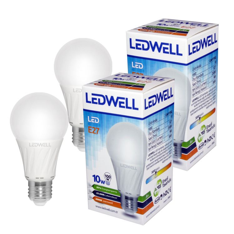 E27 15W LED Glühbirne Kaltweiß 6000K 1520 lm Ersetzt 100W Sparlampe Birne Licht