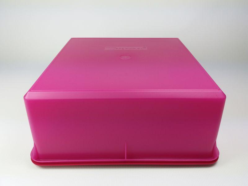 Kühlschrank Pink : Tupperware aufbewahrungsbehälter l pink brombeer quadrat
