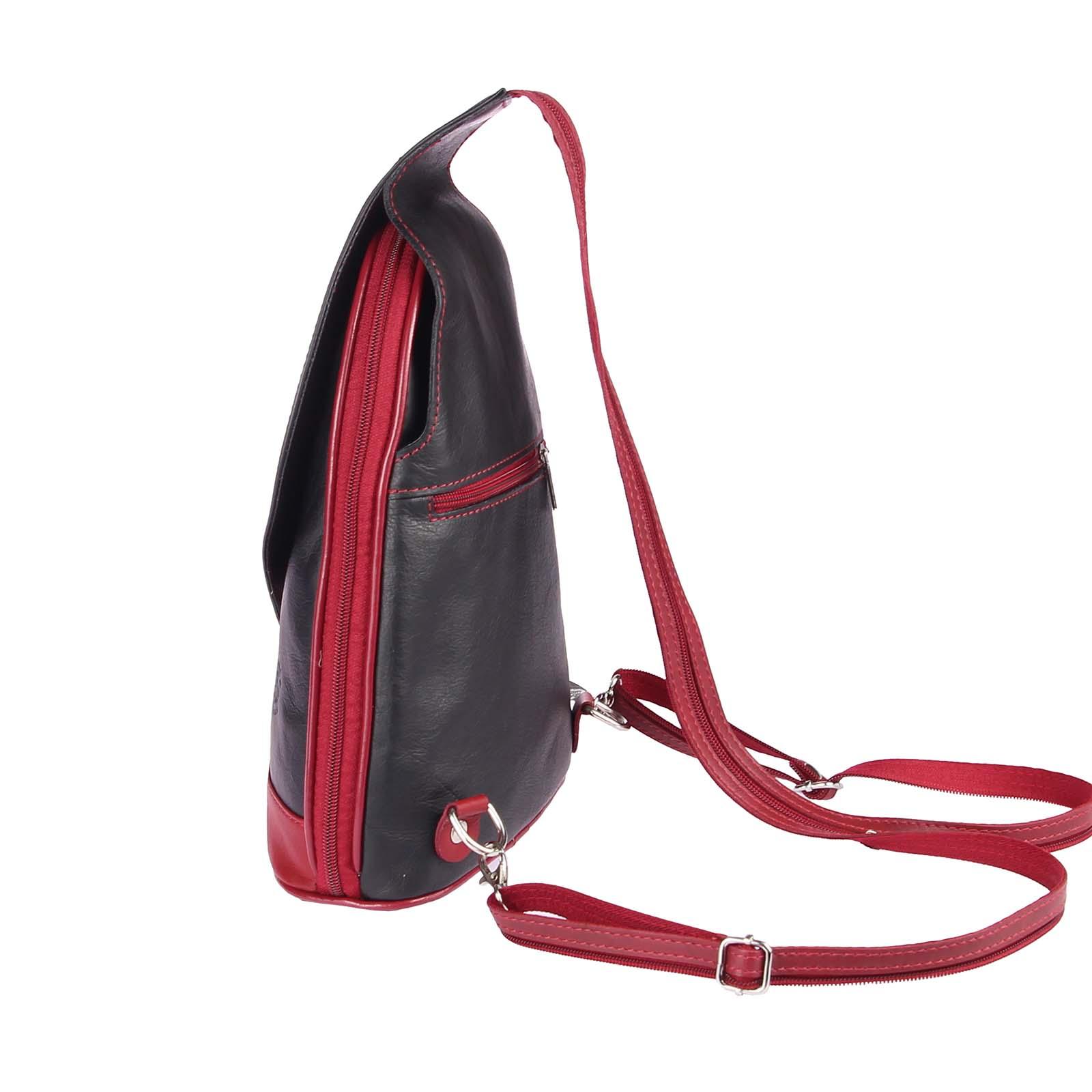 ITALY-DAMEN-LEDER-RUCKSACK-Schulter-Tasche-Reise-BACKPACK-Lederrucksack-it-BAG Indexbild 25