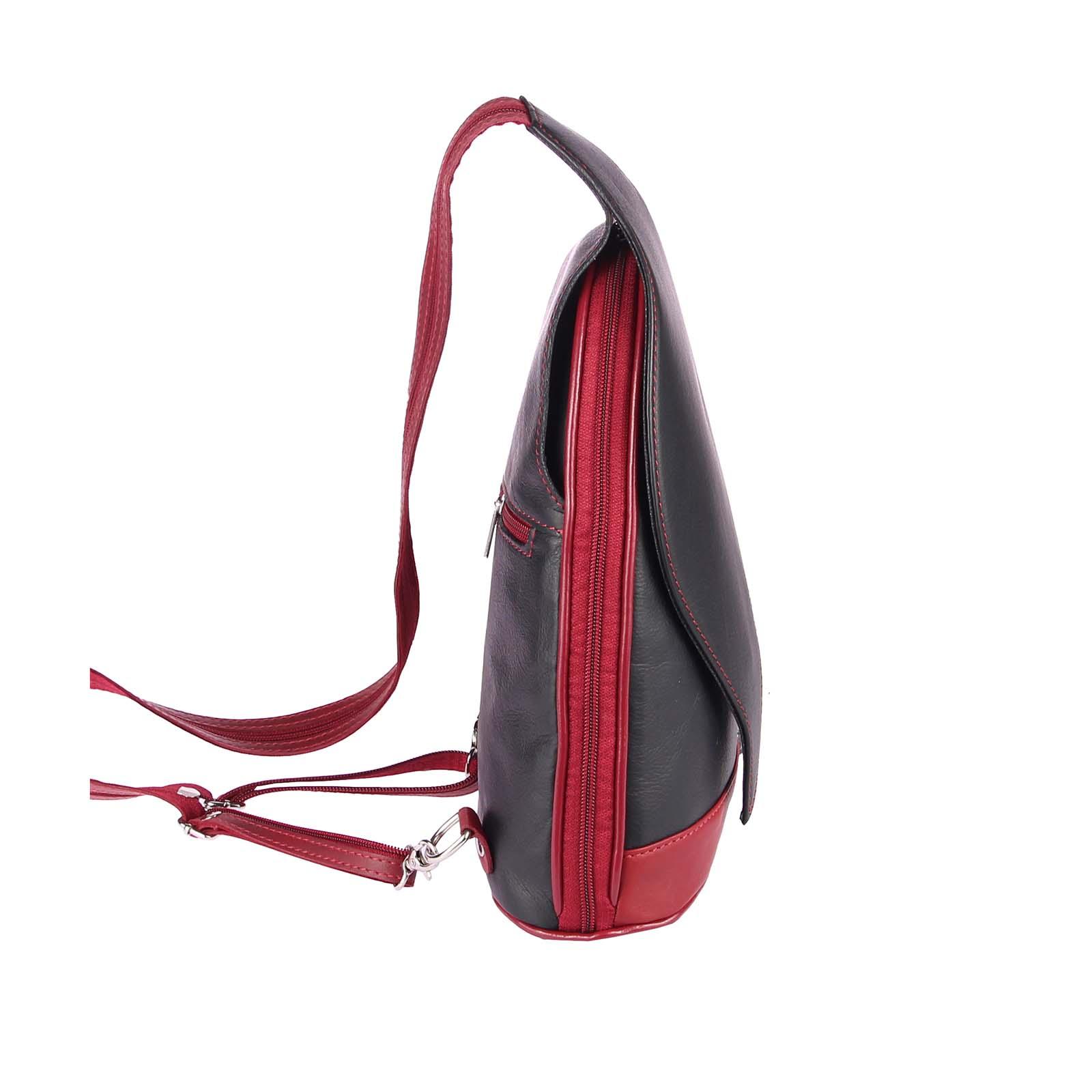 ITALY-DAMEN-LEDER-RUCKSACK-Schulter-Tasche-Reise-BACKPACK-Lederrucksack-it-BAG Indexbild 24