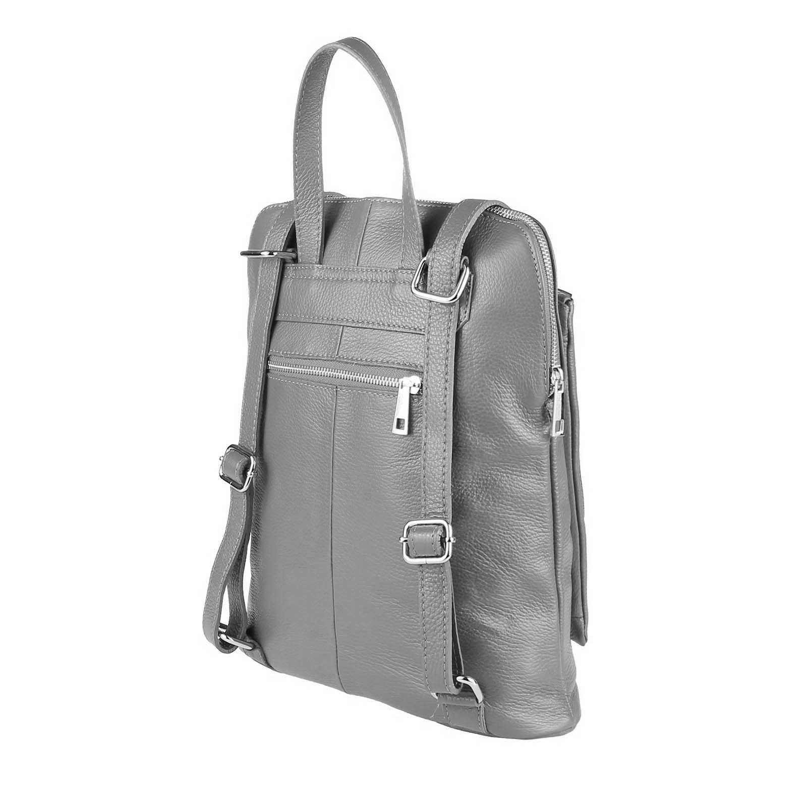 ITALy-DAMEN-LEDER-Reise-RUCKSACK-SchulterTasche-Shopper-Backpack-Ledertasche-BAG Indexbild 60